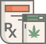 Cannabis product icon