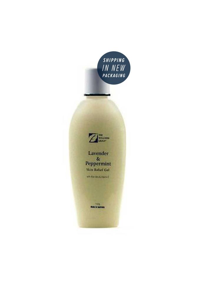 Lavender & Peppermint Skin Relief Gel