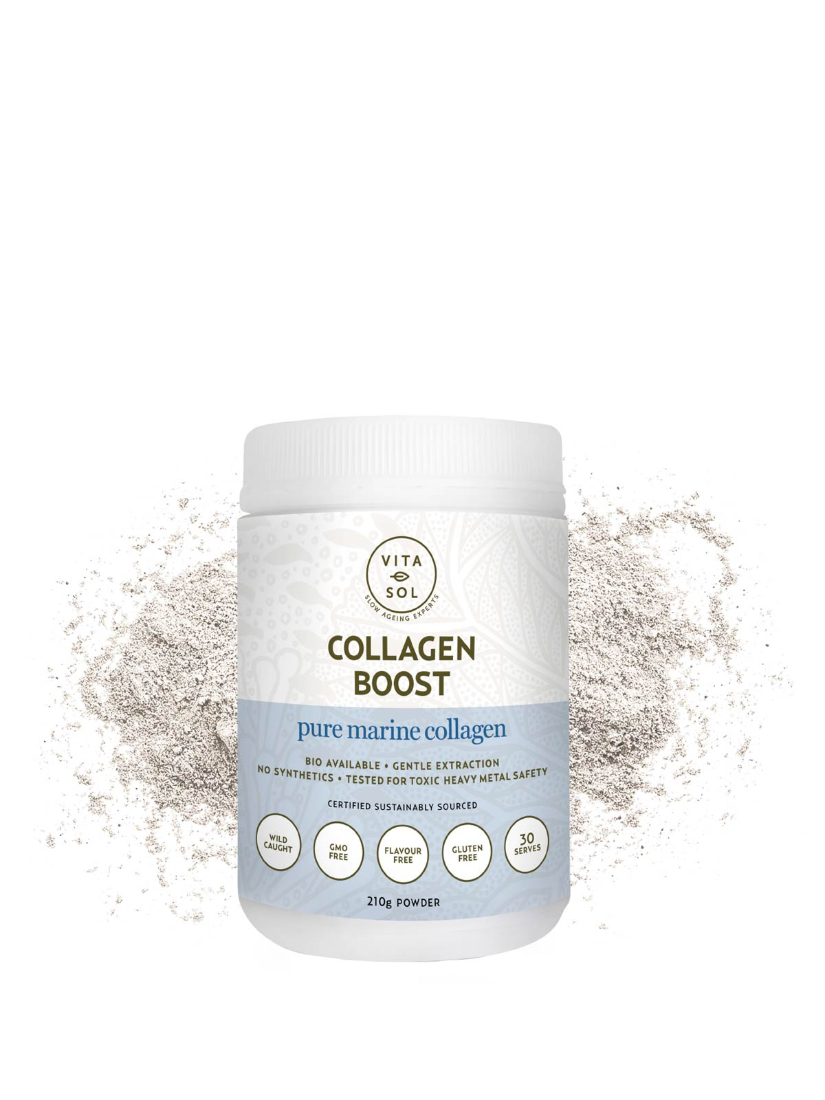 Vita Sol Collagen Boost Wholefood Powder