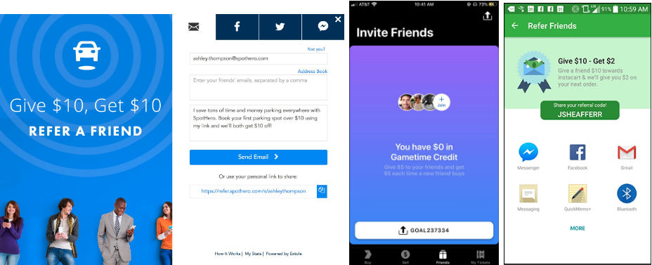 lyft testing different referral incentives