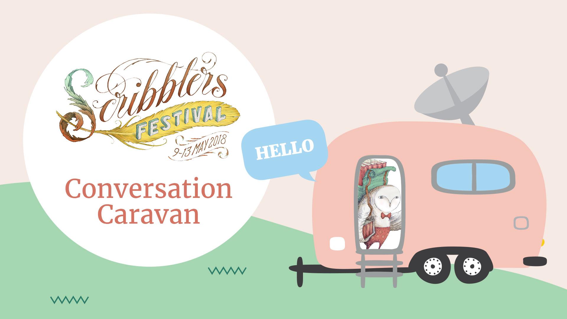 Scribbler's Festival Conversation Caravan