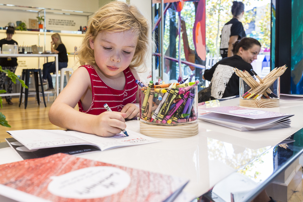 Scribbler's Festival aims to stimulate children's natural creativity