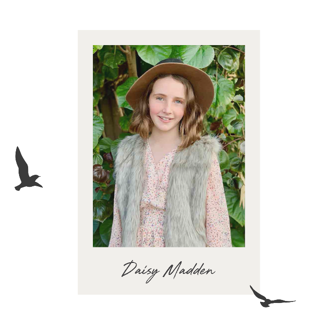 The Golden Pen Writing Award 2020 - Shortlist - Daisy Madden