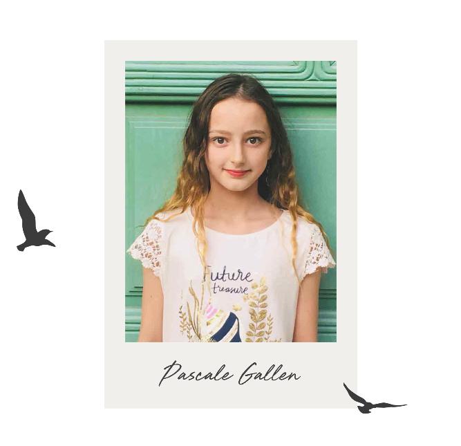 The Golden Pen Award 2020 - Shortlist - Pascale Gallen