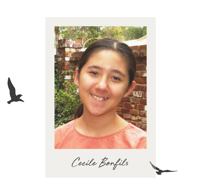 The Golden Pen Writing Award 2020 - Shortlist - Cecile Bonfils