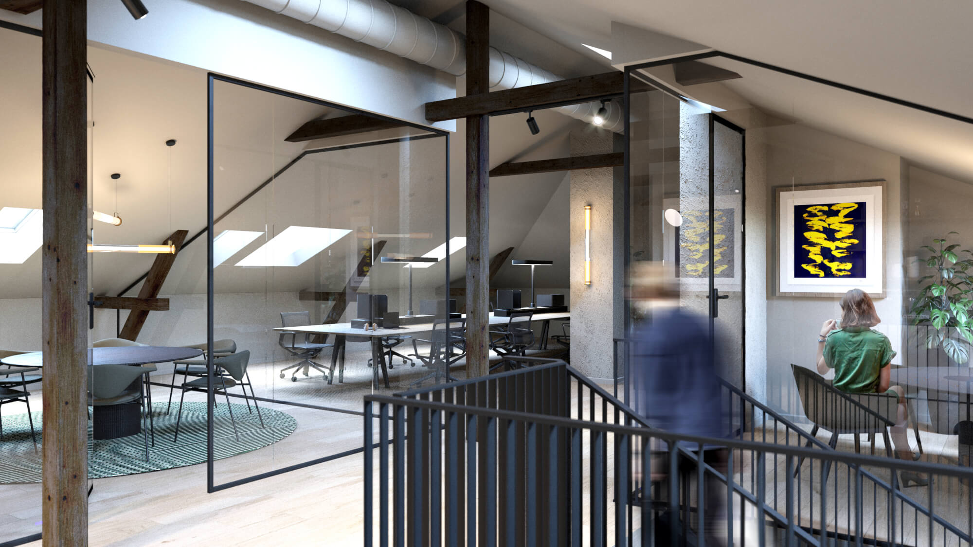 Interiør i Høgevardes miljøvennlige leiligheter