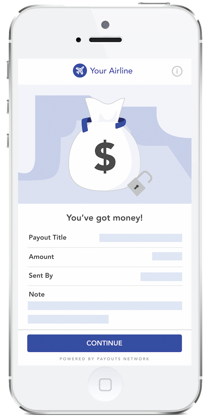 Wonder Instant Payout - Payout Screen