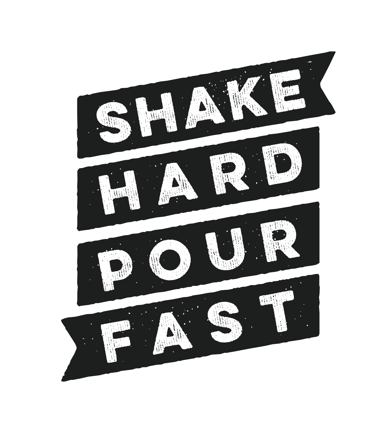 The Shake Hard Pour Fast brand icon