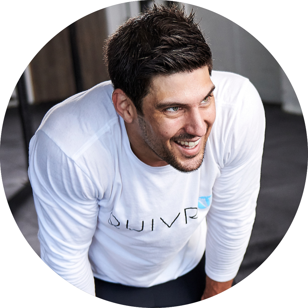 Quivr founder Ash Crawford.