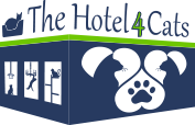 The Hotel 4 Cats Logo White
