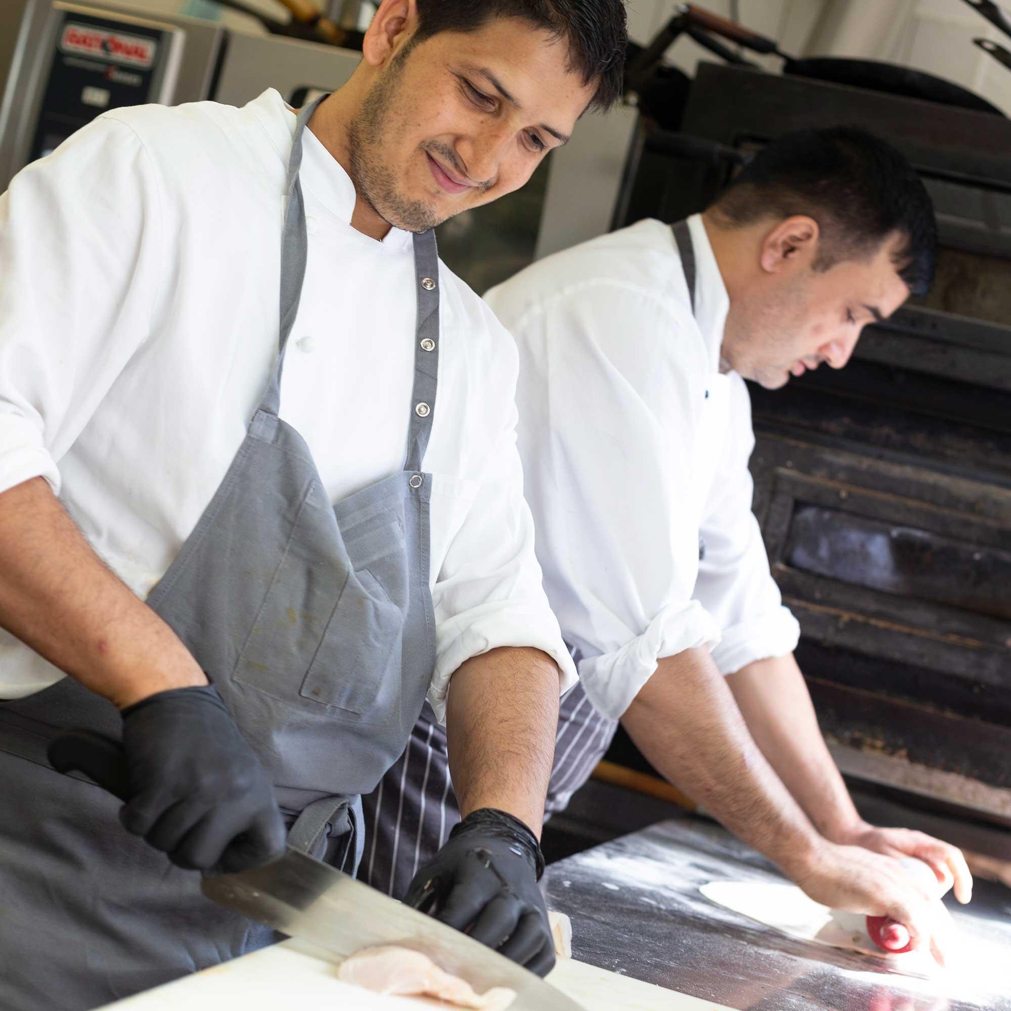 Köche bei Akrams Restaurant