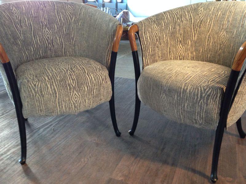 Stoel gestoffeerd, meubelstoffeerder Den Haag