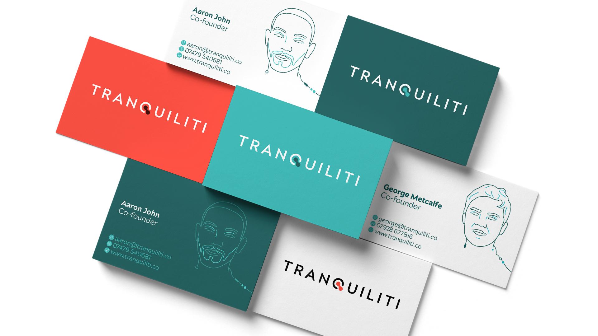 Image - Tranquiliti visual identity