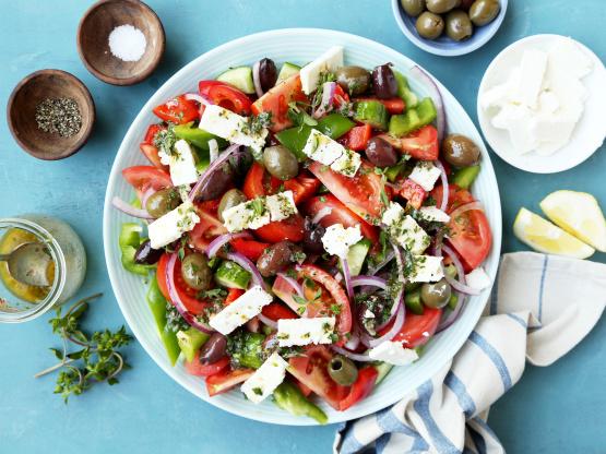 CBD infused Greek Salad