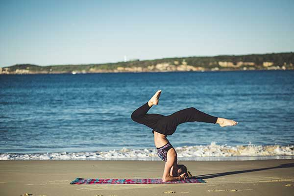 balancing healthy yoga cannabis THC
