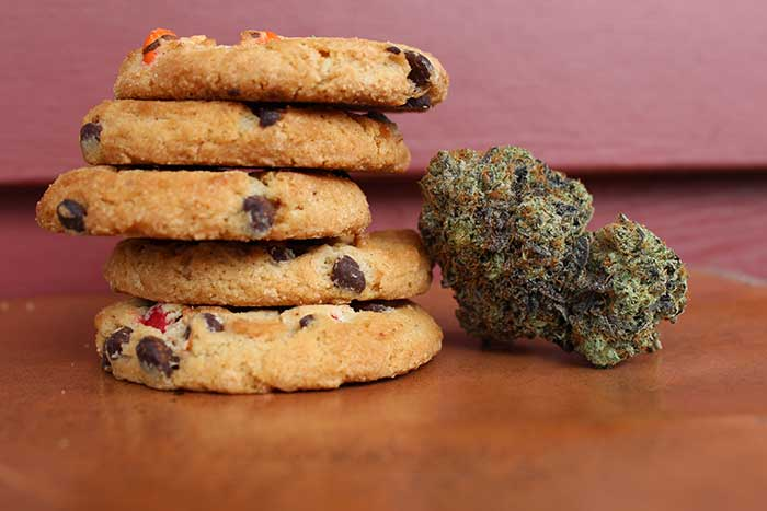 cannabis infused micro dosed cooikes