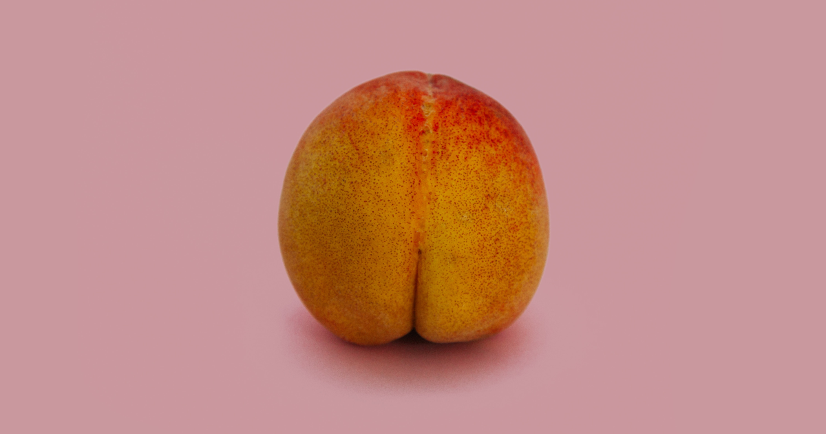 peach to represent bottoming