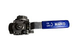 3 Way Reduced Port Ball Valve