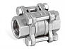 3PC-Spring Vertical Check Valve Threaded