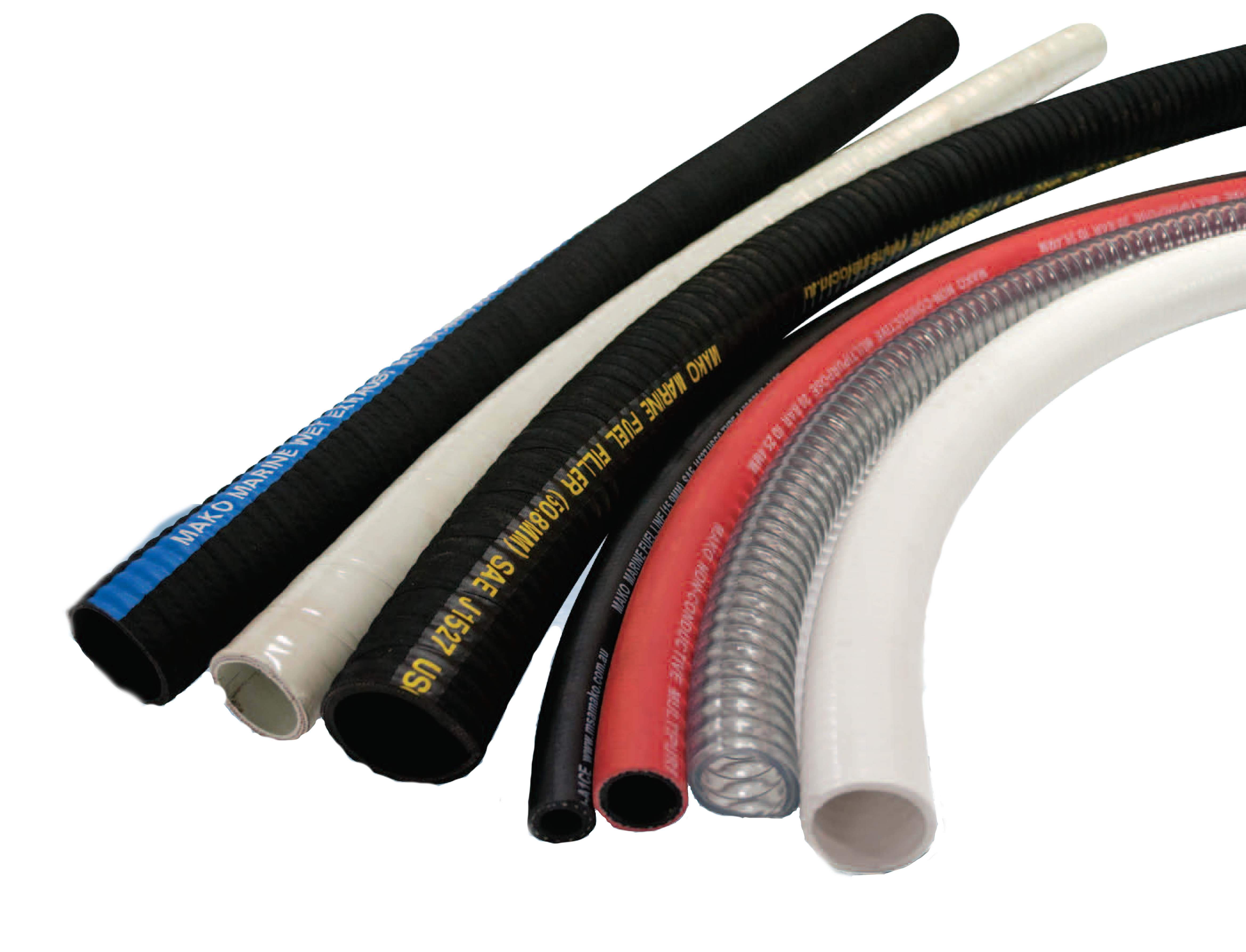 Section 7 Hoses, Ducting, Sheet Rubber and Gaskets