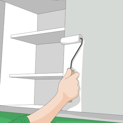 Küche streichen