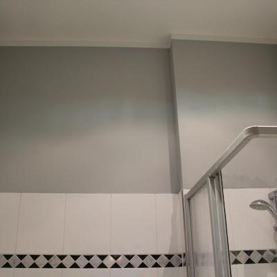 Frisch gestrichenes Badezimmer