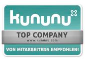 Top Company Bewertung auf Kununu