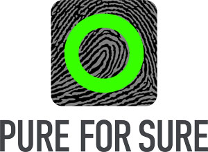 Pure for sure logo