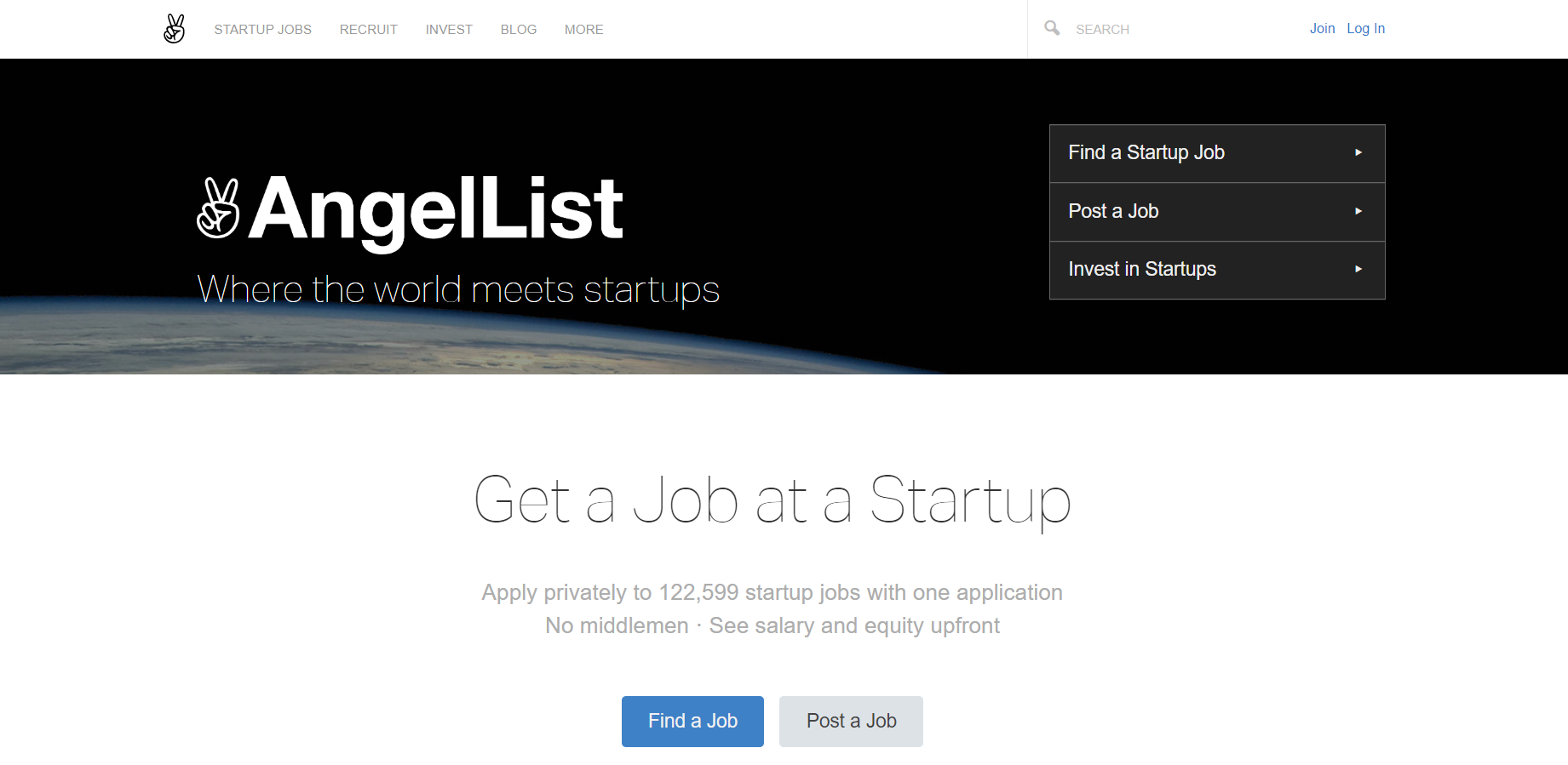 Hire marketers with startup experience on AngelList