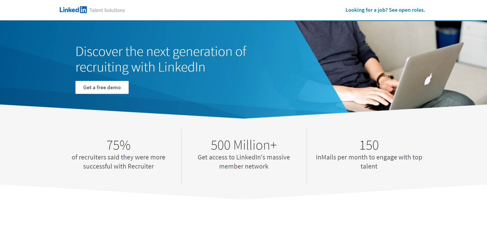 recruit using linkedin