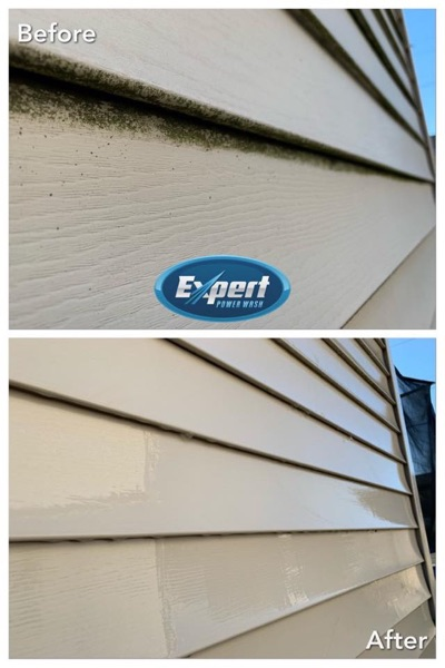 siding wash project
