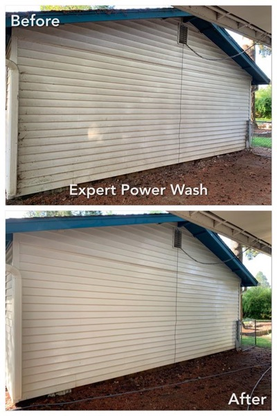 expert power wash review before and after