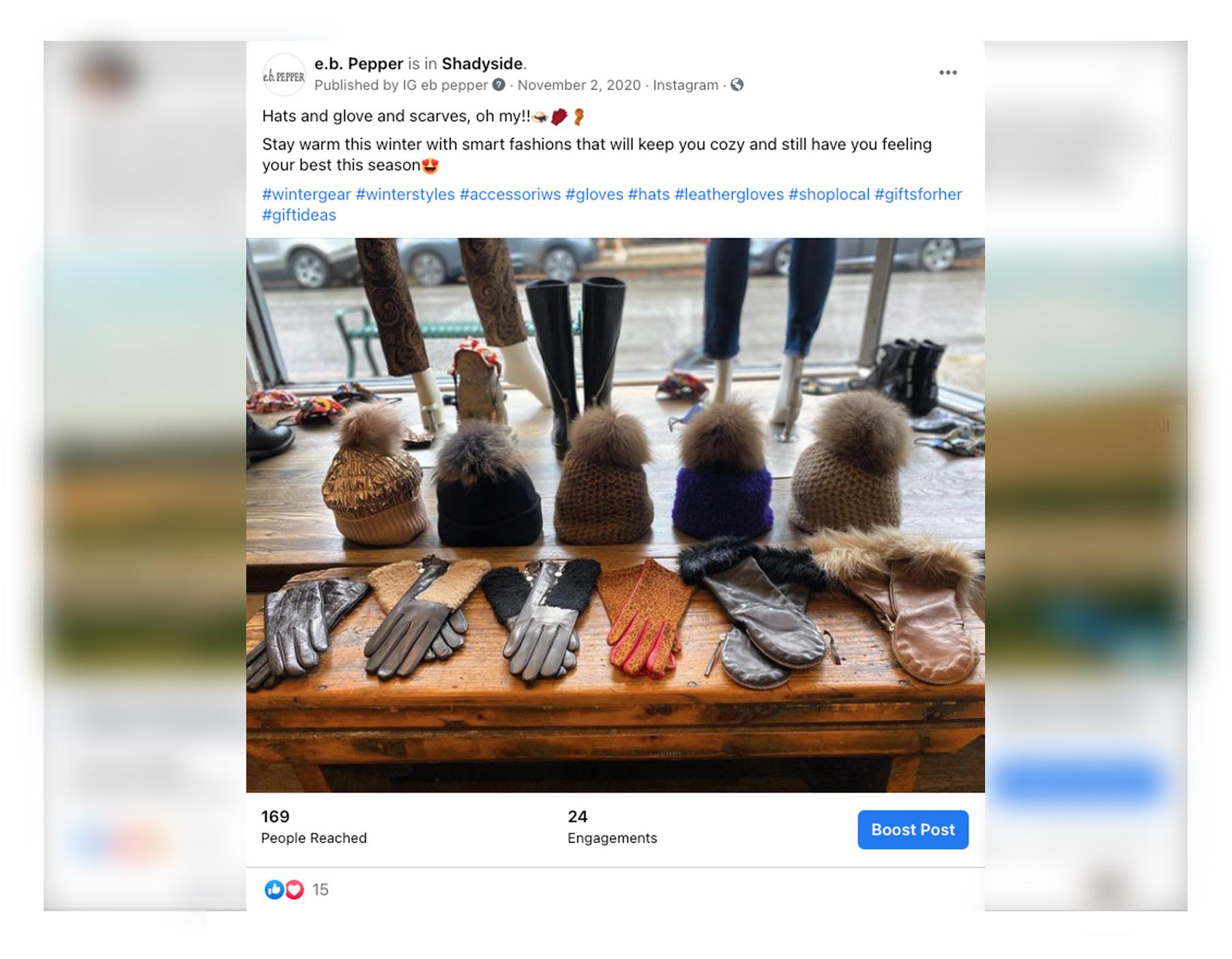 Balla for Men Facebook Advertisement