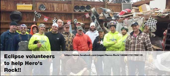 our hero volunteers