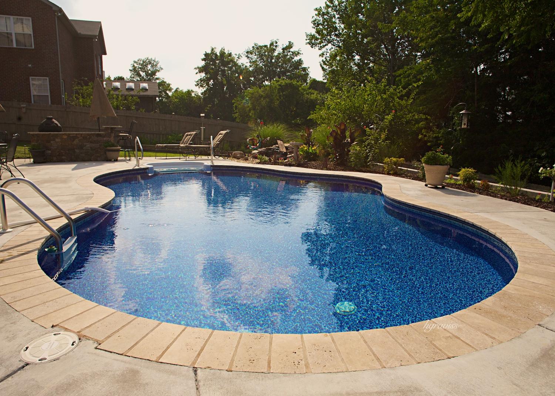 Roy Vaden Pools Inground Swimming Pool