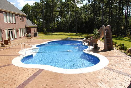 Roy Vaden Pools - Diving Board