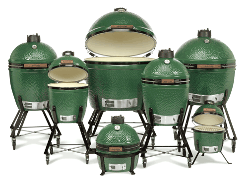 Big Green Egg Family Shot