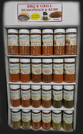 New Spice Rubs