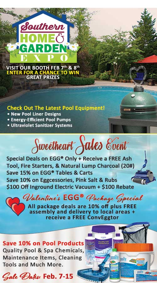 Southern Home and Garden Expo Specials