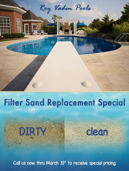 Sand Replacement Special