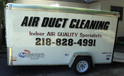 Air duct cleaning in Brainerd