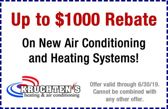 ac and heating rebate
