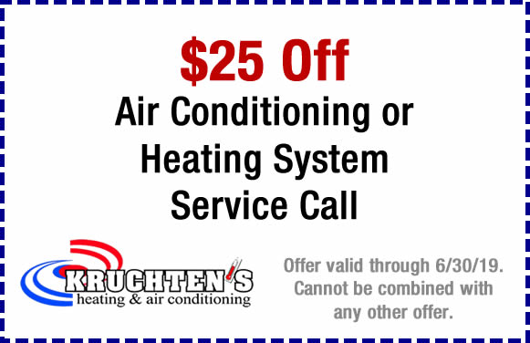 ac and heating service call discount