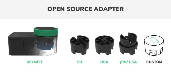 keymitt smart lock open source adapter