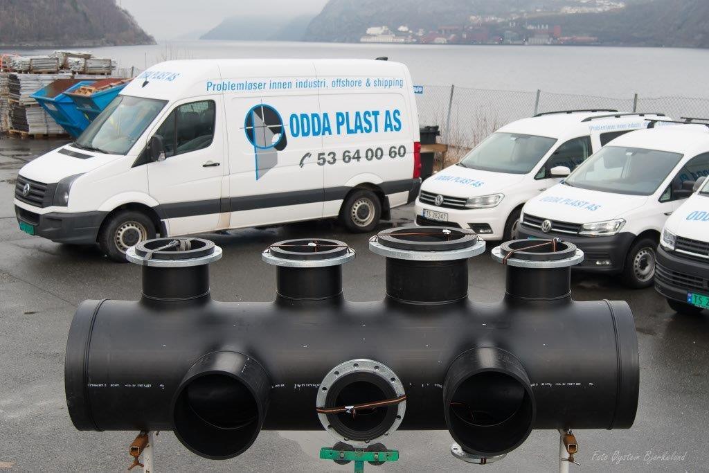 Odda Plast produserer samlestokker for Brødrende Dahl AS