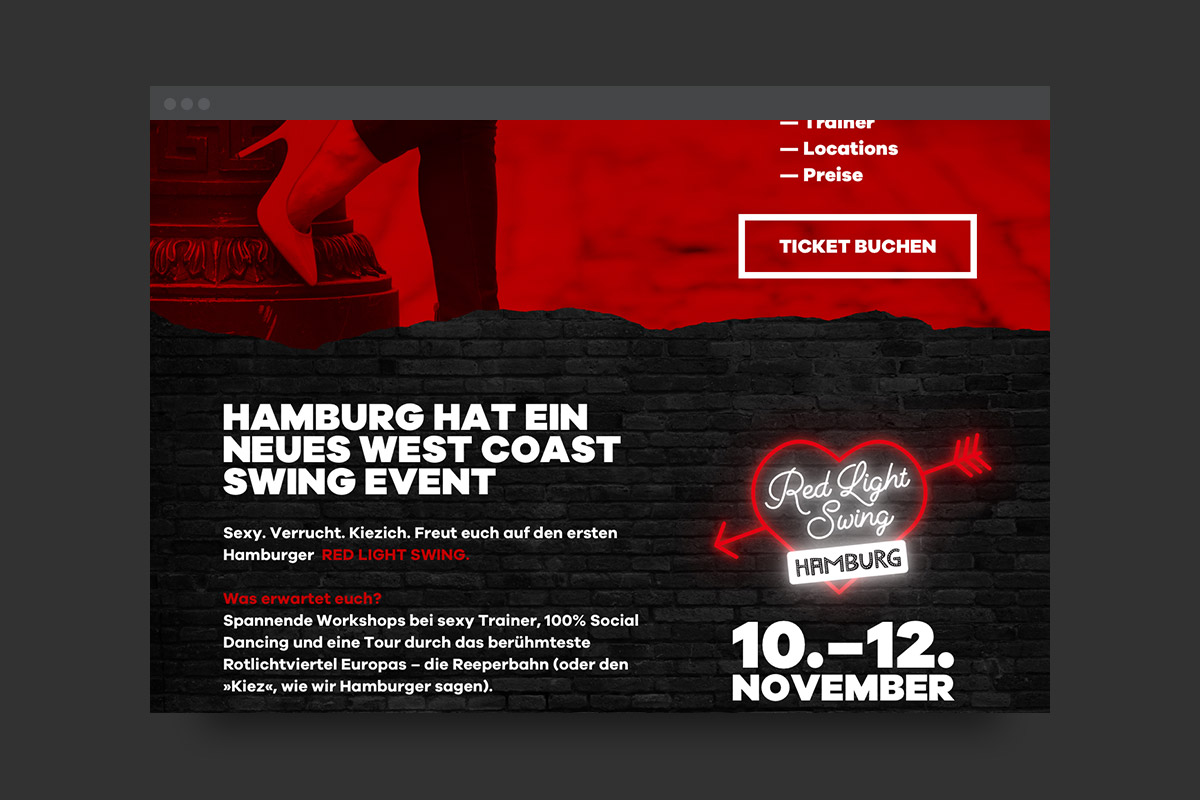 Red Light Swing Website