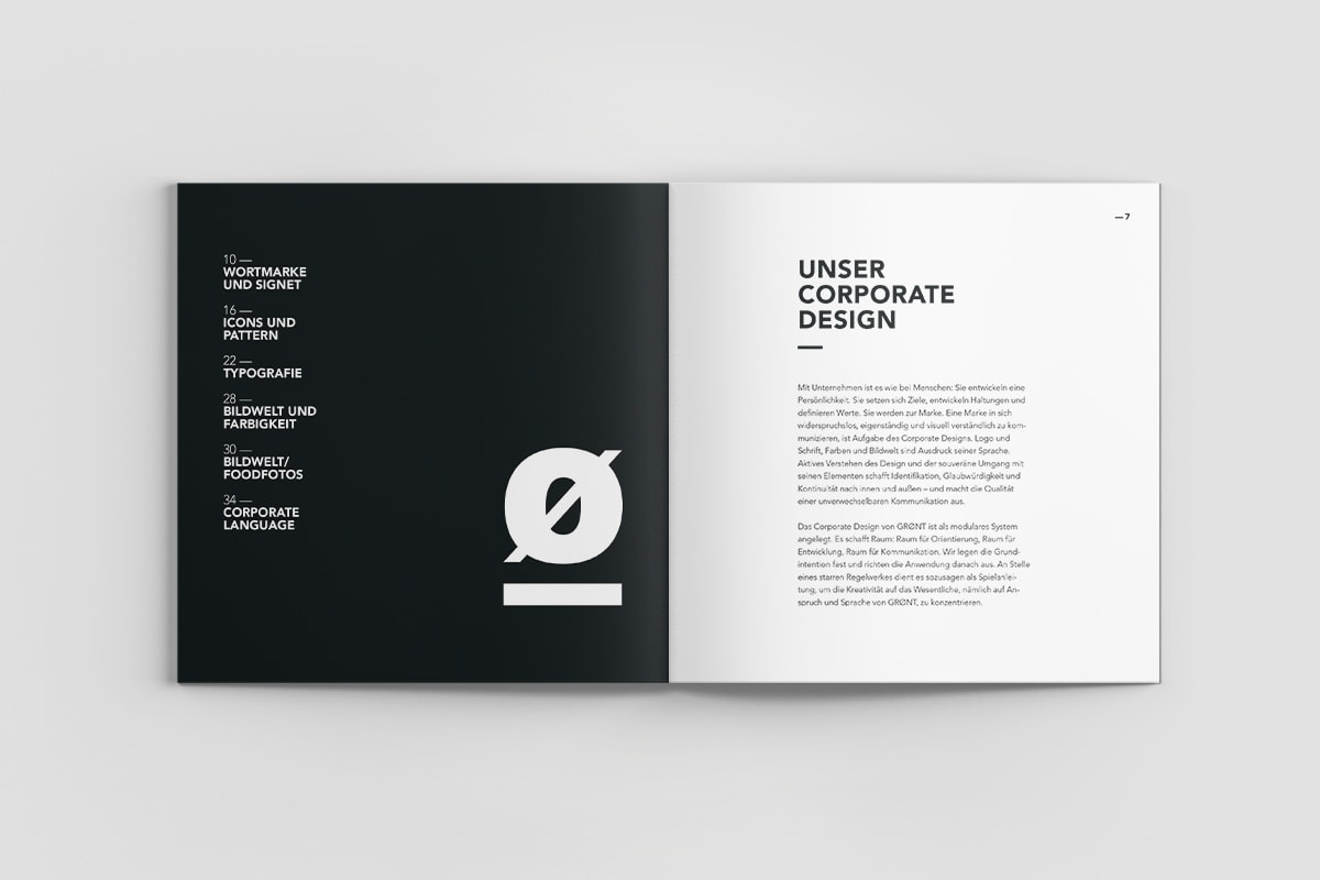 Corporate Design Manual von GRØNT