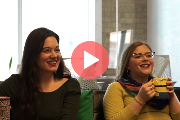 Office employees from 500px speaking about the benefits of Hoppier office snack delivery service