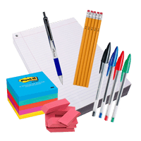 order printer paper, copier paper, pens and notebooks for the office with hoppier