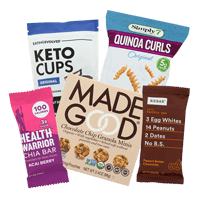 hoppier delivers organic, allergy-friendly and gluten-free office snacks including Made Good, Koukla and Enjoy Life.